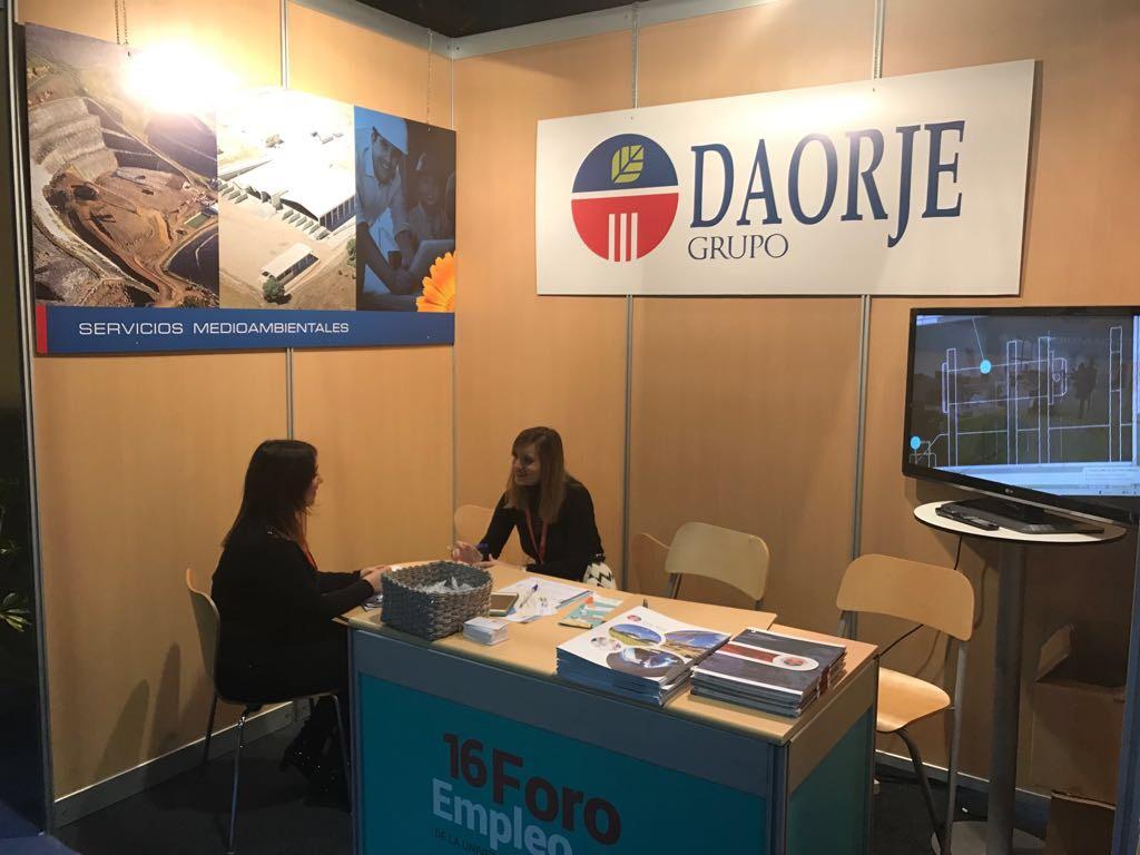 Grupo Daorje en el Foro de Empleo 2017