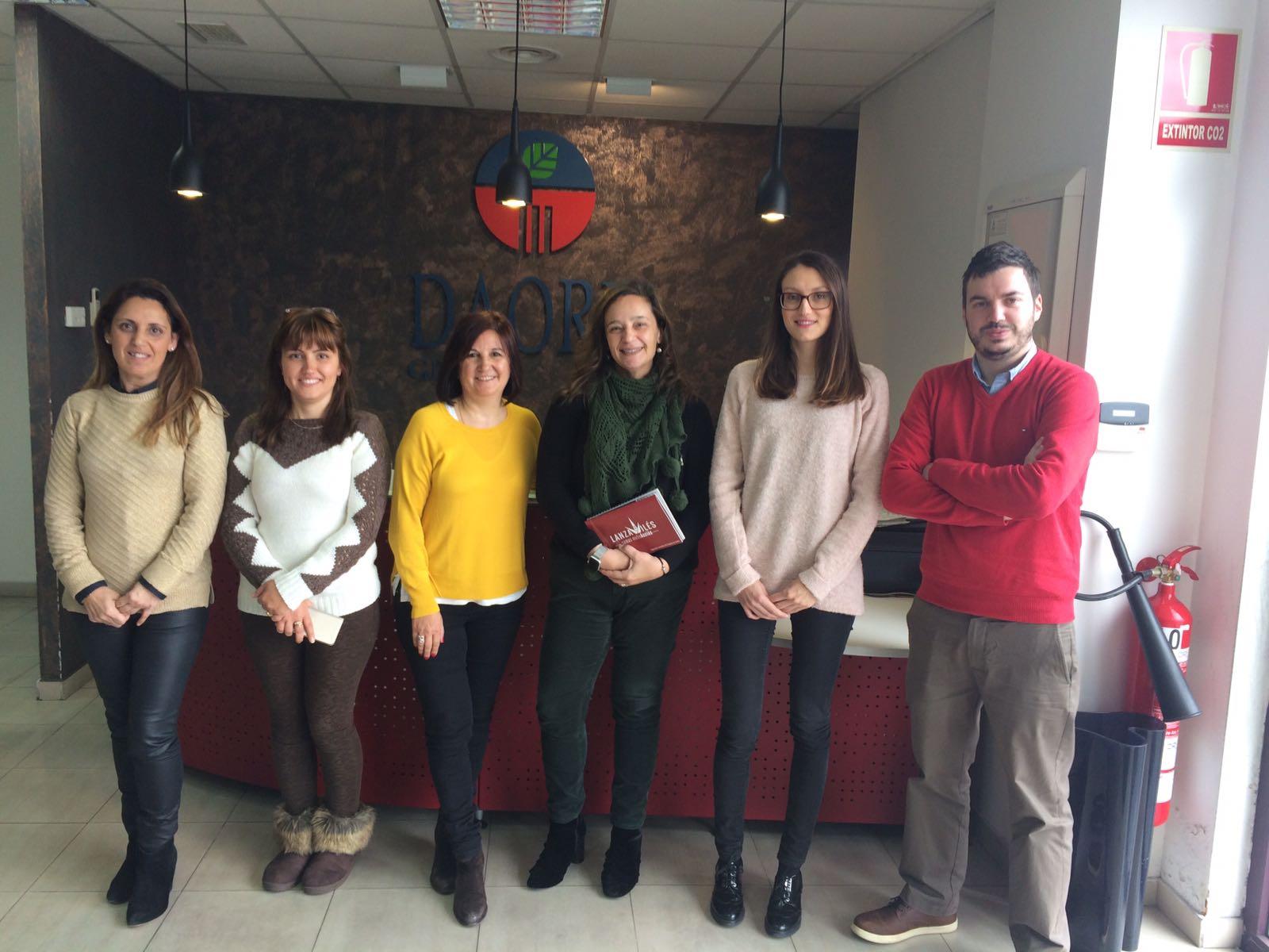 Grupo Daorje con las Lanzaderas de Empleo