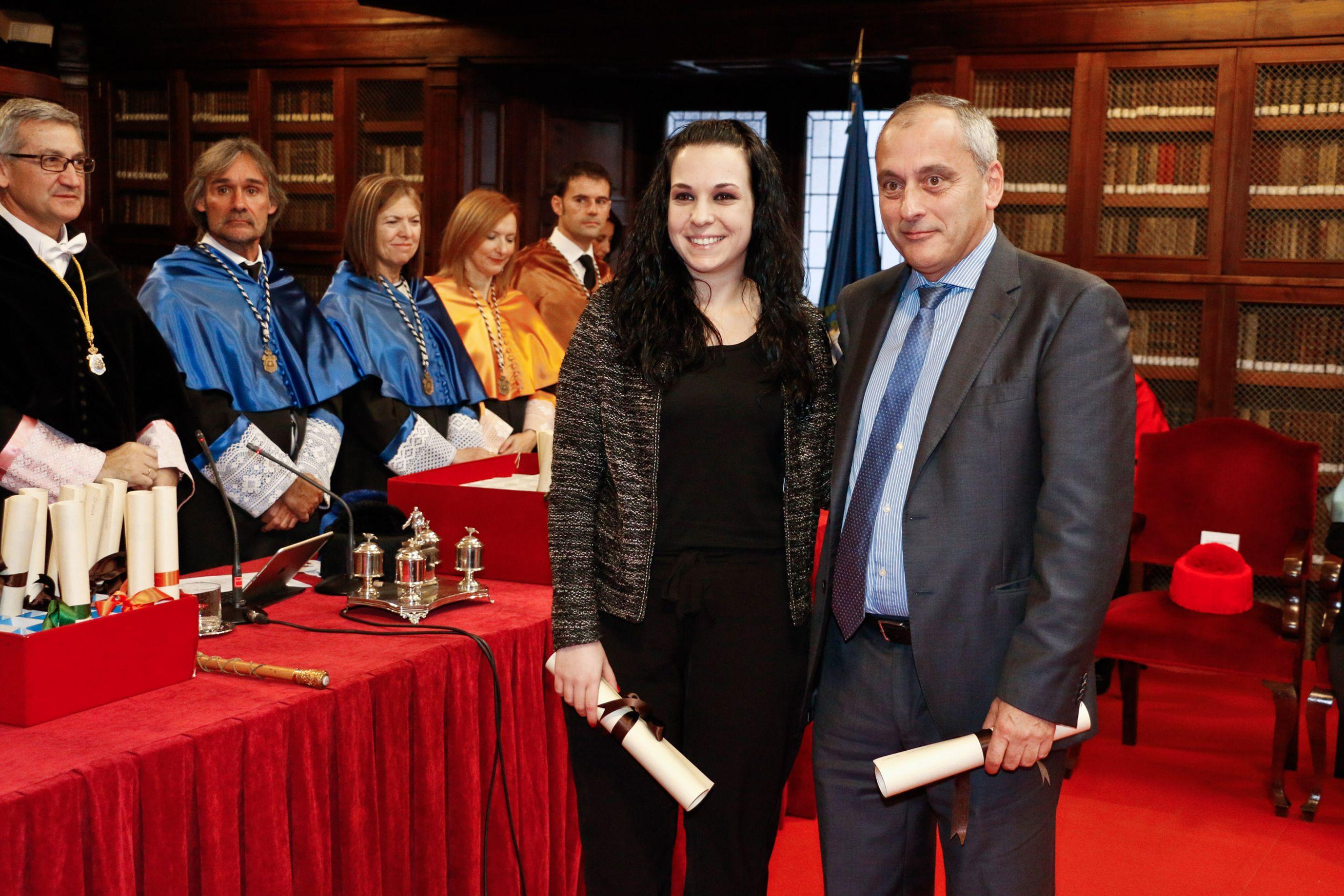 Grupo Daorje entrega el premio fin de grado en Ingeniería Química Industrial de la Universidad de Oviedo